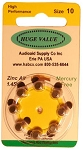 HUGE VALUE Mercury-Free Size 10 Pack of 80