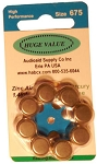 HUGE VALUE Mercury-Free Size 675 Pack of 80
