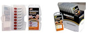 Duracell Size 13 Easy-Tab 1 Carton of 80